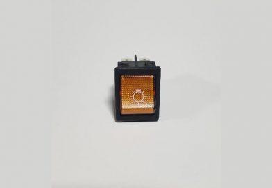 Aç-Kapa Anahtar Sarı Lamba