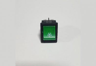 Aç-Kapa Anahtar Yeşil Kar
